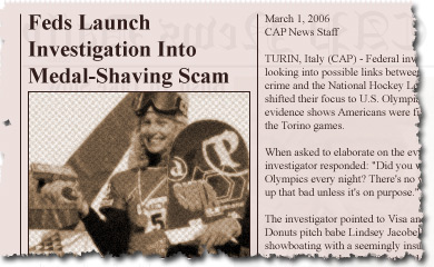 Feds Launch Investigation Into Medal-Shaving Scam